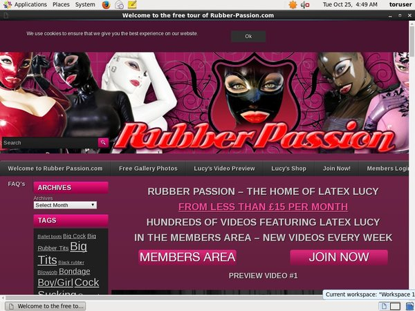 Accounts To Rubberpassion