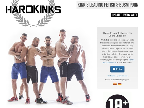 Hardkinks Free Preview