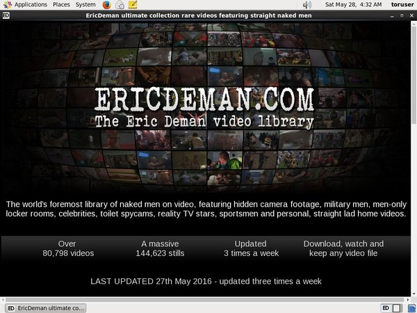 Pay For Eric Deman