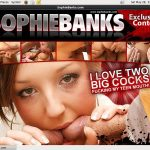 Sophie Banks Account Creator