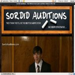 Sordid Auditions V2 Ad