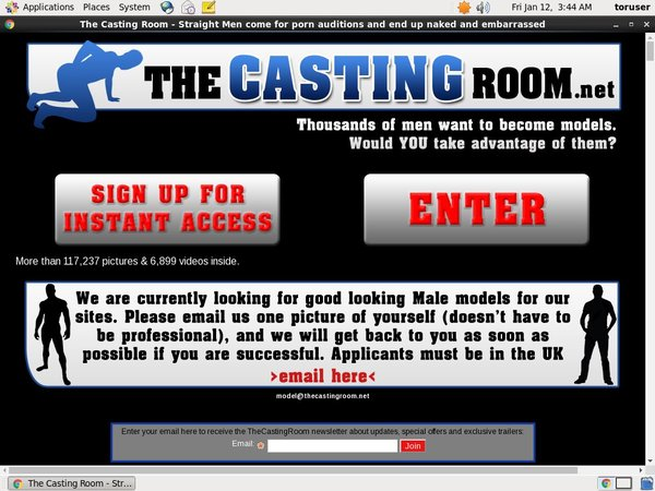 The Casting Room Slave