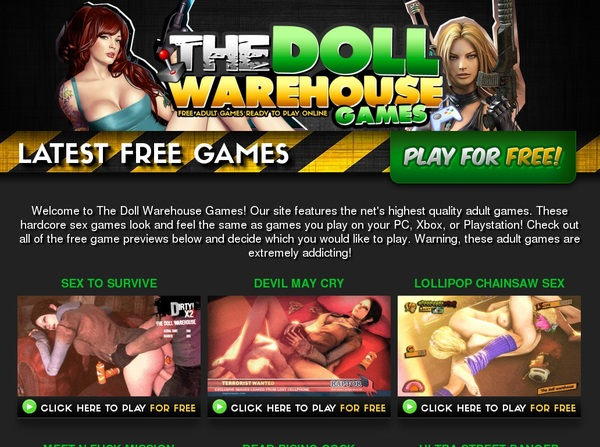The Doll Warehouse Games Net