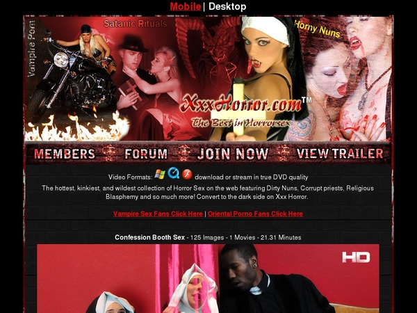 Xxxhorror.com Account Forum