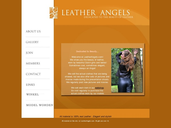 Leather Angels Without CC