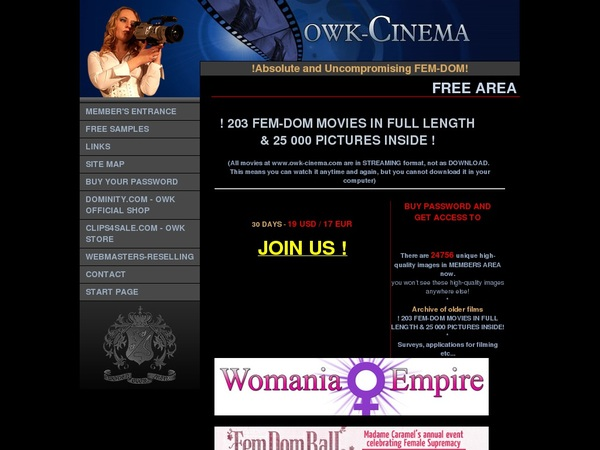 Owk Cinema Join By Text Message