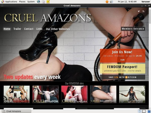 Cruel Amazons Membership Account