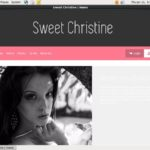 Sweet Christine Free Account And Password